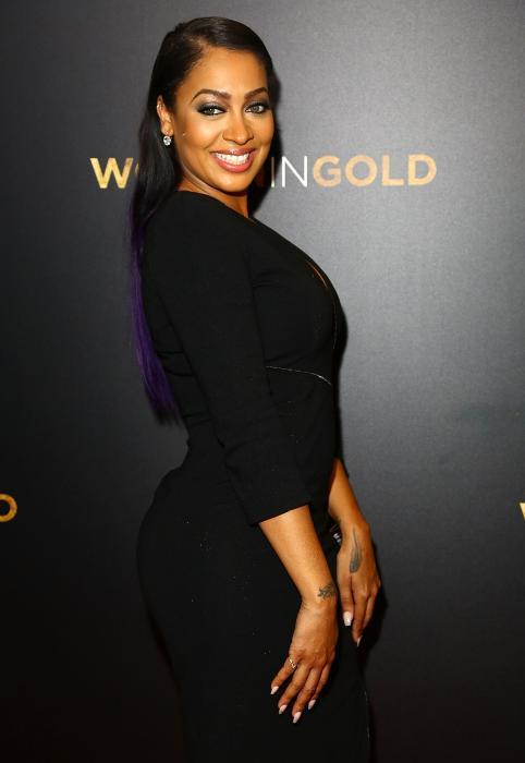 La La Anthony در صحنه فیلم سینمایی Woman in Gold
