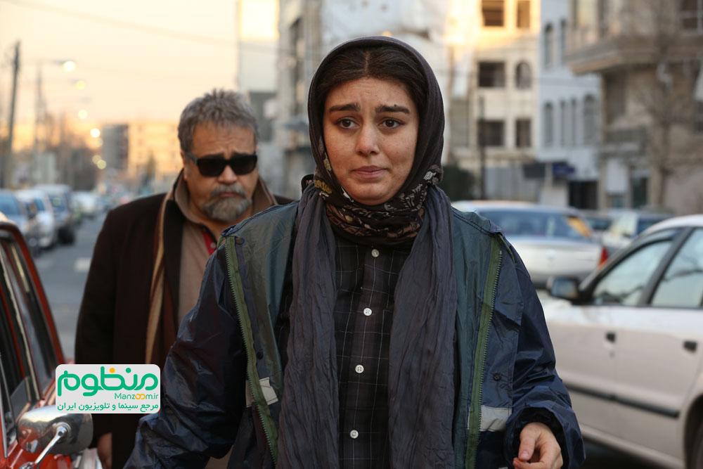 سحر قریشی و محمدرضا شریفینیا در فیلم سه بیگانه