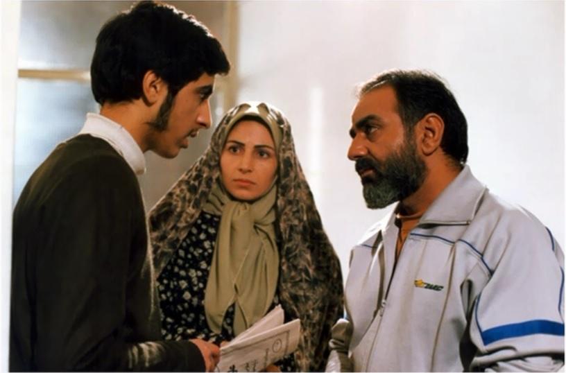 پرویز پرستویی و بهروز شعیبی در فیلم آژانس شیشهای