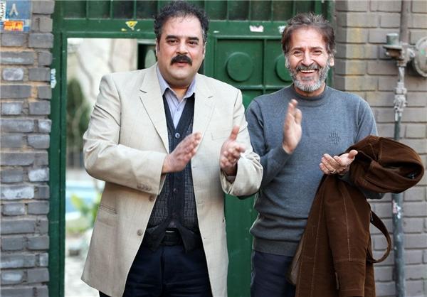ابوالفضل پورعرب در صحنه فیلم سینمایی به وقت خماری به همراه هومن برقنورد
