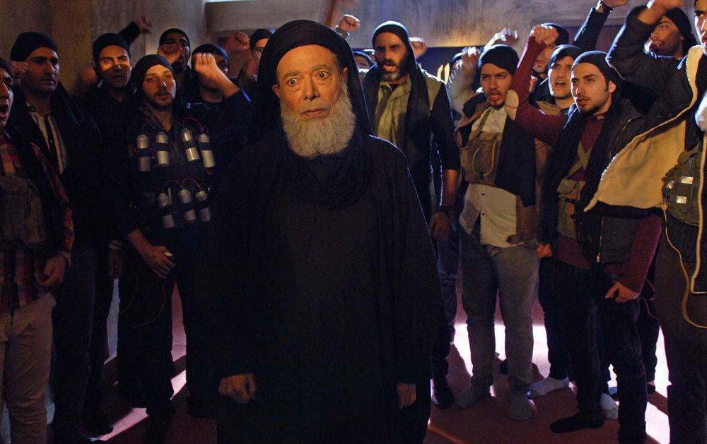 علی نصیریان در فیلم سینمایی امپراطور جهنم