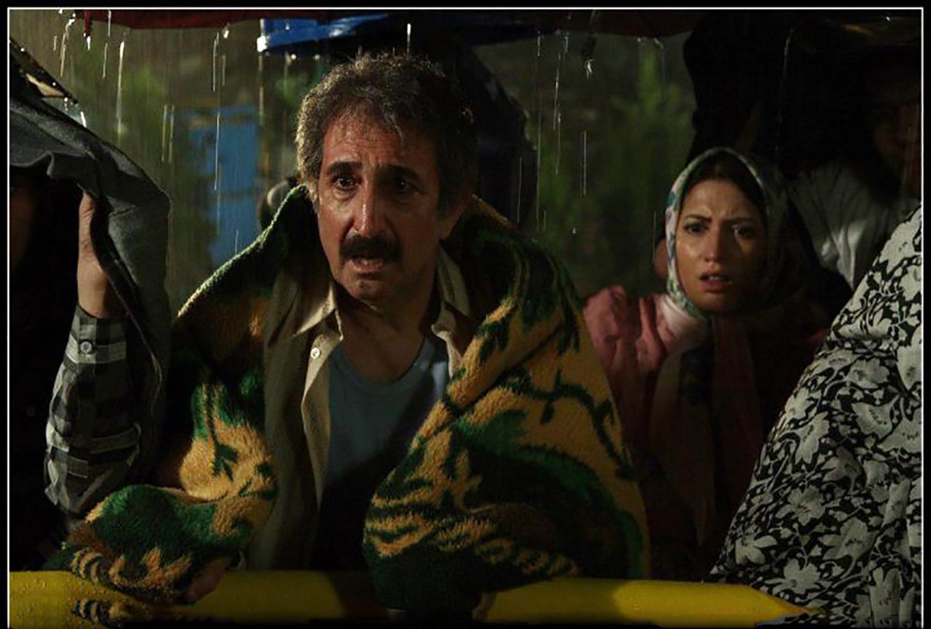 طناز طباطبایی و فرهاد آئیش در فیلم پریناز