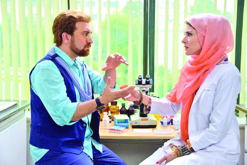 ویشکا آسایش و مجید صالحی در فیلم من و شارمین