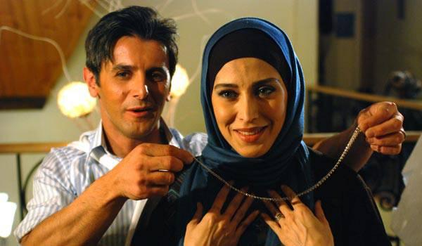 مهتاب کرامتی و امین حیایی در فیلم زن ها فرشته اند