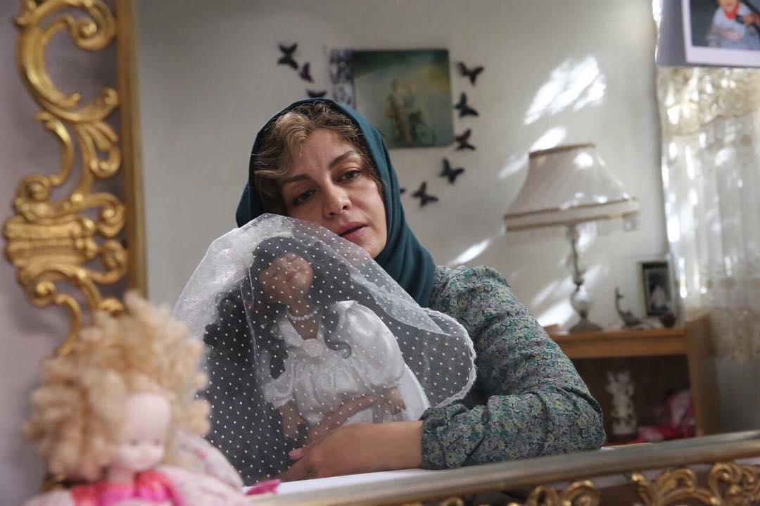 مریلا زارعی در فیلم زیر سقف دودی