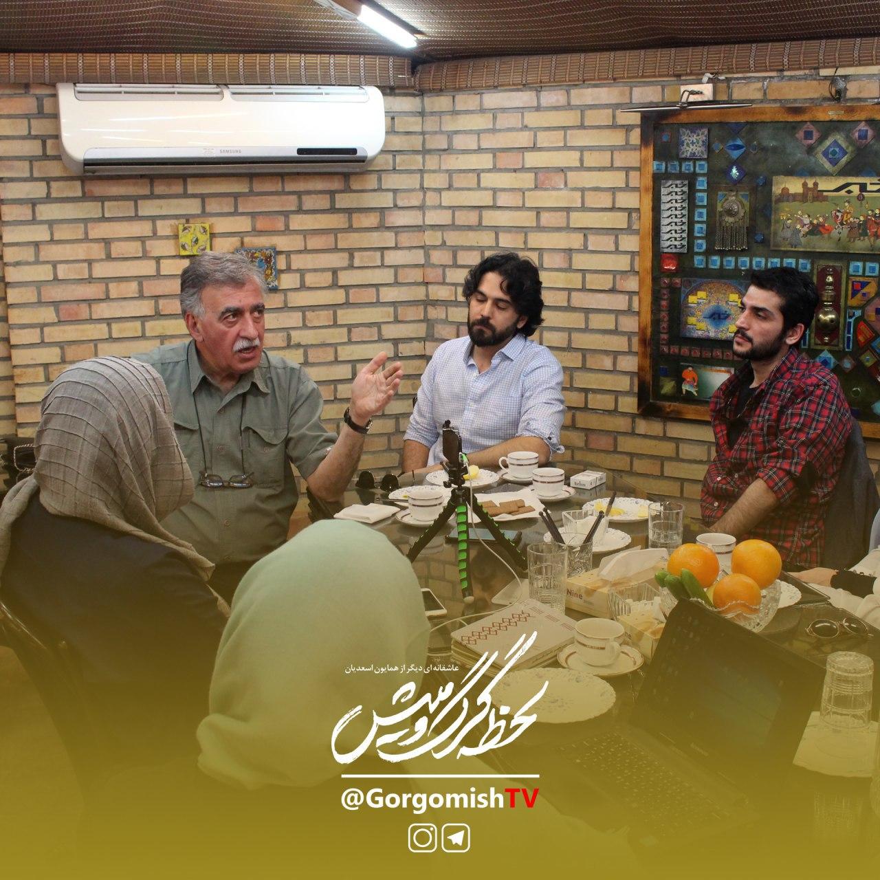 همایون اسعدیان در نشست خبری سریال تلویزیونی لحظه گرگ و میش به همراه پاشا رستمی و نیما نادری