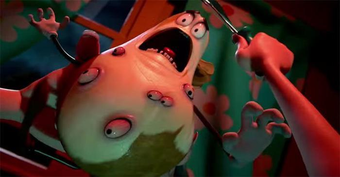 Greg Tiernan در صحنه فیلم سینمایی مهمانی سوسیسی