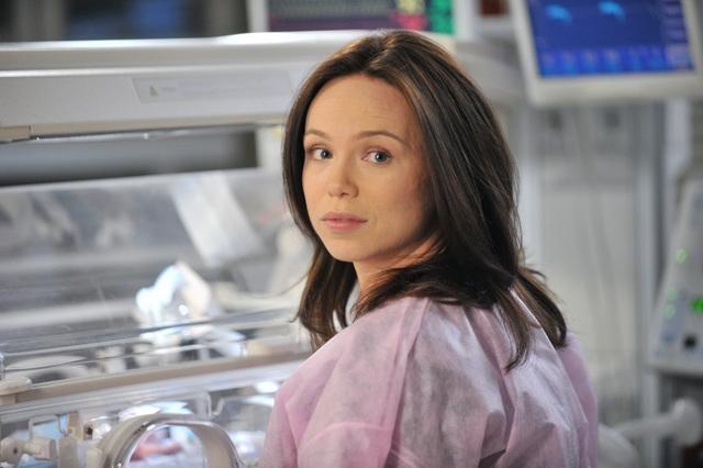 Amanda Fuller در صحنه سریال تلویزیونی آناتومی گری