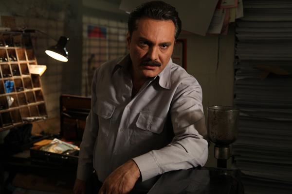 فرشید نوابی در صحنه سریال تلویزیونی پروانه