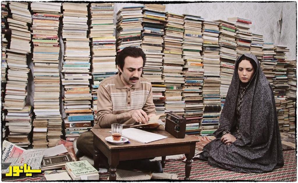 فرزین صابونی در صحنه فیلم سینمایی سیانور به همراه بهنوش طباطبایی