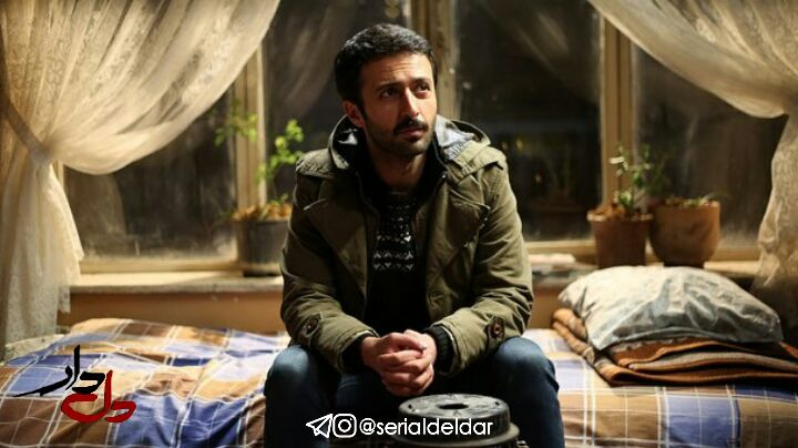 حسام محمودی در صحنه سریال تلویزیونی دل دار