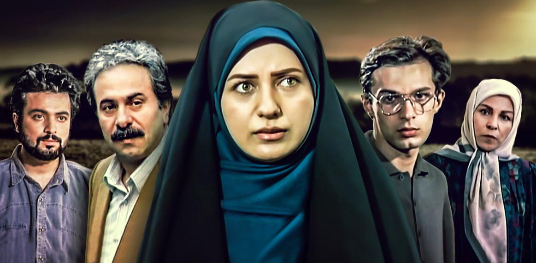 آزیتا لاچینی در صحنه سریال تلویزیونی در پناه تو به همراه رامین پرچمی، ایرج راد، حسن جوهرچی و لعیا زنگنه