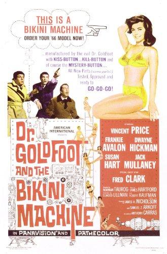Dwayne Hickman در صحنه فیلم سینمایی Dr. Goldfoot and the Bikini Machine به همراه Susan Hart، Frankie Avalon و وینسنت پرایس