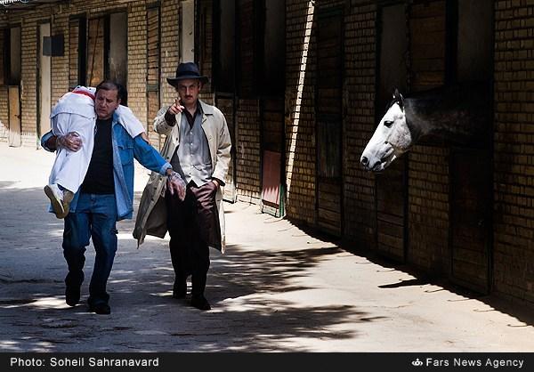 ارژنگ امیرفضلی و افشین سنگ چاپ در فیلم سینمایی قهرمانان کوچک
