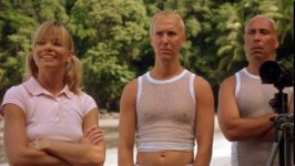 Taylor Negron در صحنه فیلم سینمایی Death to the Supermodels به همراه Matt Winston و Jaime Pressly