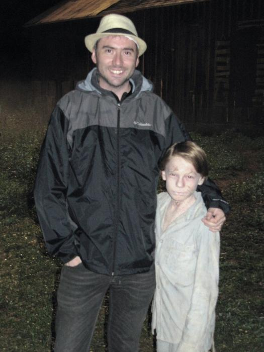 Ciarán Foy در صحنه فیلم سینمایی شوم 2 به همراه Jaden Klein