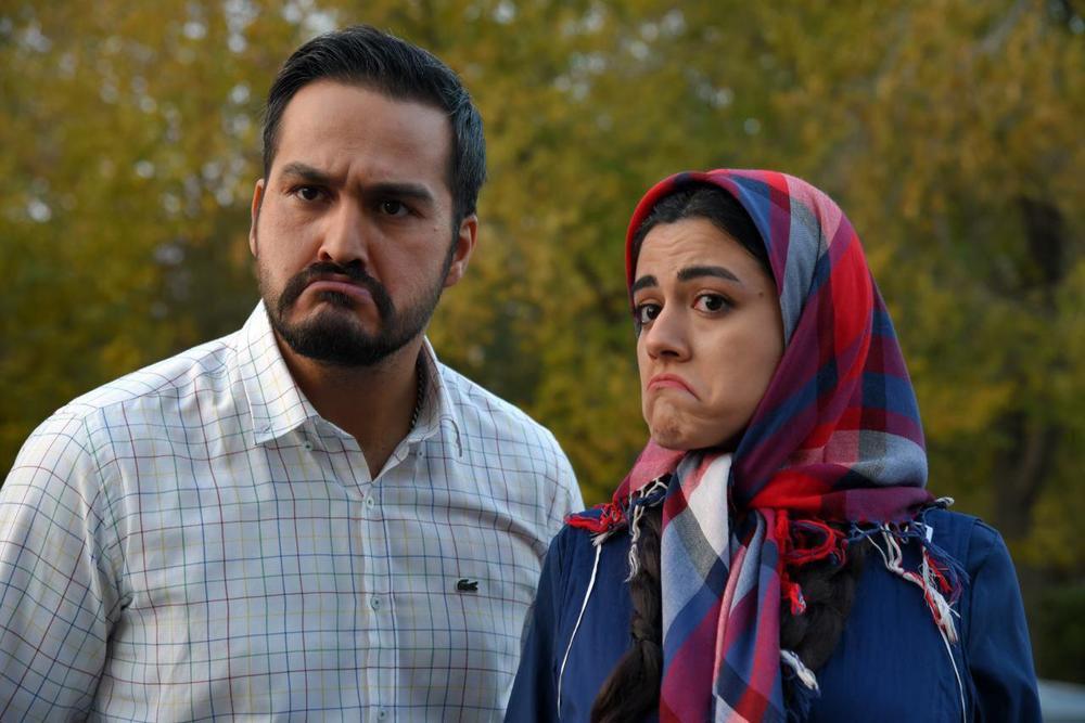 ماهور الوند و میلاد کیمرام در فیلم ملی و راههای نرفتهاش
