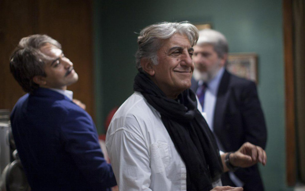 رضا کیانیان و افشین هاشمی در فیلم سینمایی وقتی برگشتم