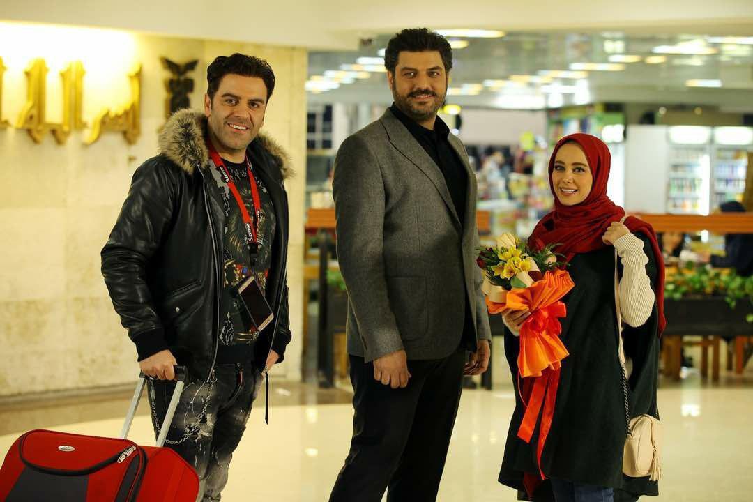 سام درخشانی و الناز حبیبی در فیلم سینمایی دشمن زن