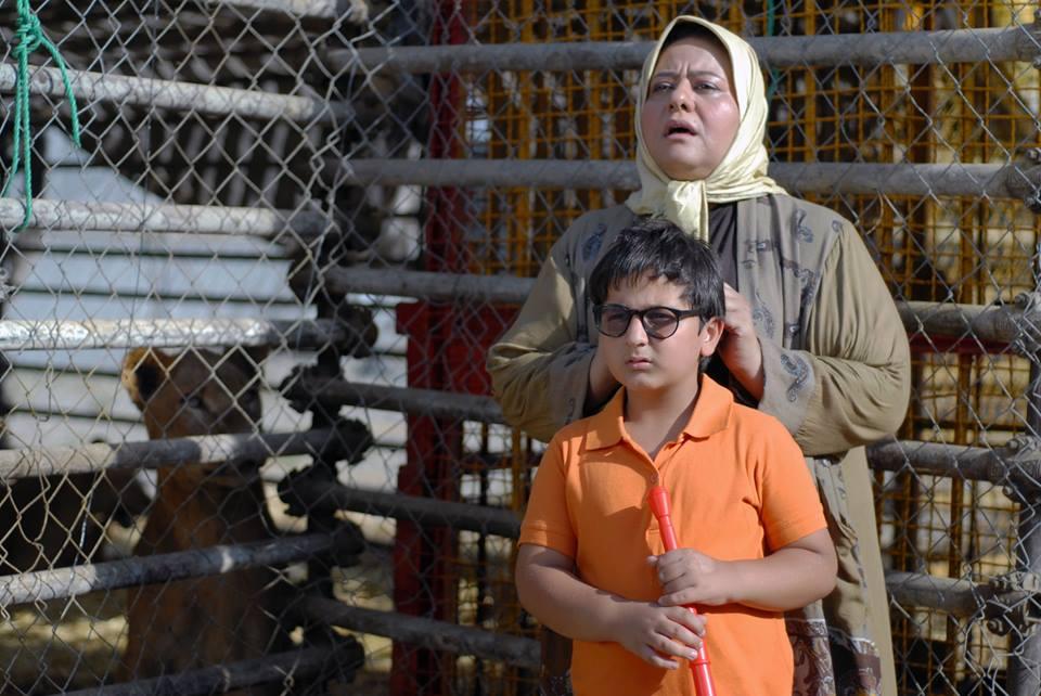 رابعه اسکویی در صحنه فیلم سینمایی دزد و پری به همراه محمدرضا شیرخانلو