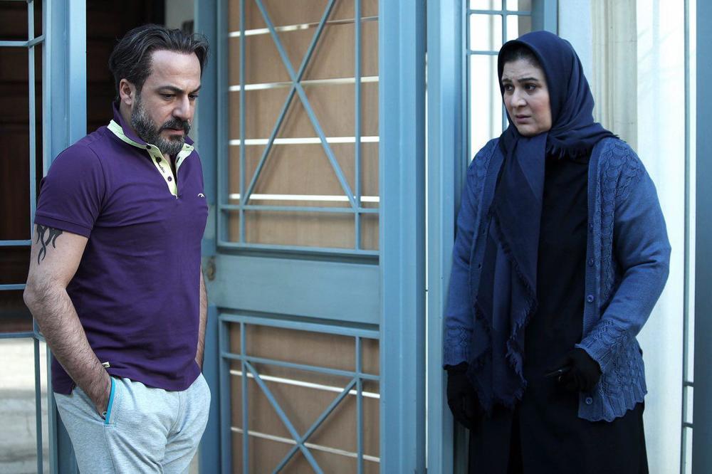ریما رامین فر و امیر آقایی در فیلم فصل نرگس