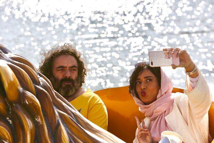 پریناز ایزدیار و حسن معجونی در فیلم سینمایی خوک