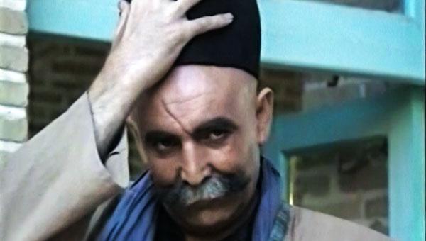 جعفر بزرگی در صحنه سریال تلویزیونی پهلوانان نمیمیرند