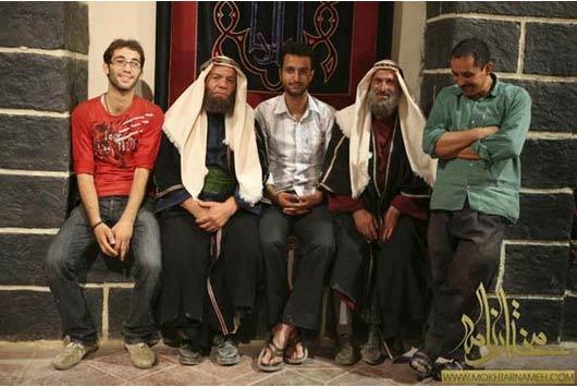 صدرالدین حجازی در صحنه سریال تلویزیونی مختارنامه