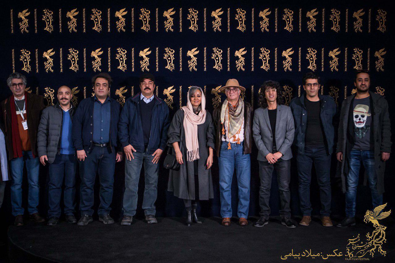 کامبوزیا پرتوی در جشنواره فیلم سینمایی کامیون به همراه سعید آقاخانی