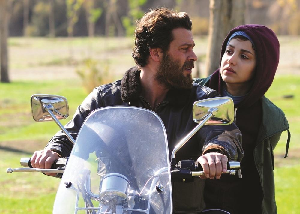 روشنک گرامی و پژمان بازغی در فیلم هلن