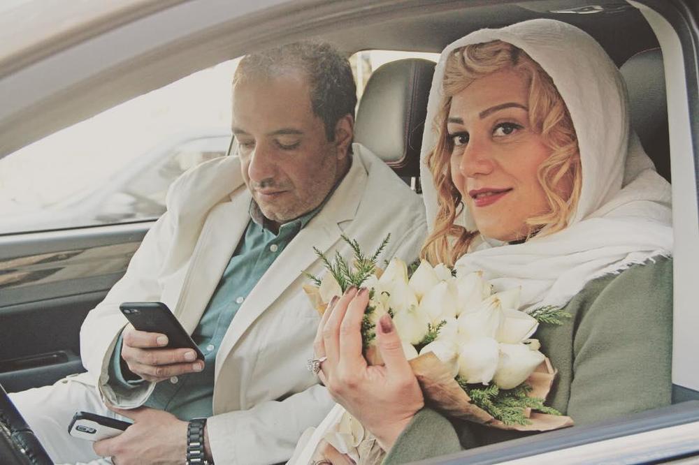 شبنم مقدمی و امیر جعفری در فیلم سینمایی اکسیدان