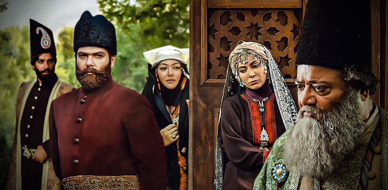 محمد مطیع در صحنه سریال تلویزیونی تبریز در مه به همراه کامران تفتی، رزیتا غفاری و کوروش تهامی