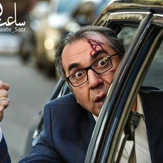 سیامک انصاری در نمایی از فیلم سینمایی ساعت 5 عصر