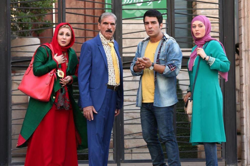 بهنوش بختیاری و رضا ناجی در فیلم پا تو کفش من نکن