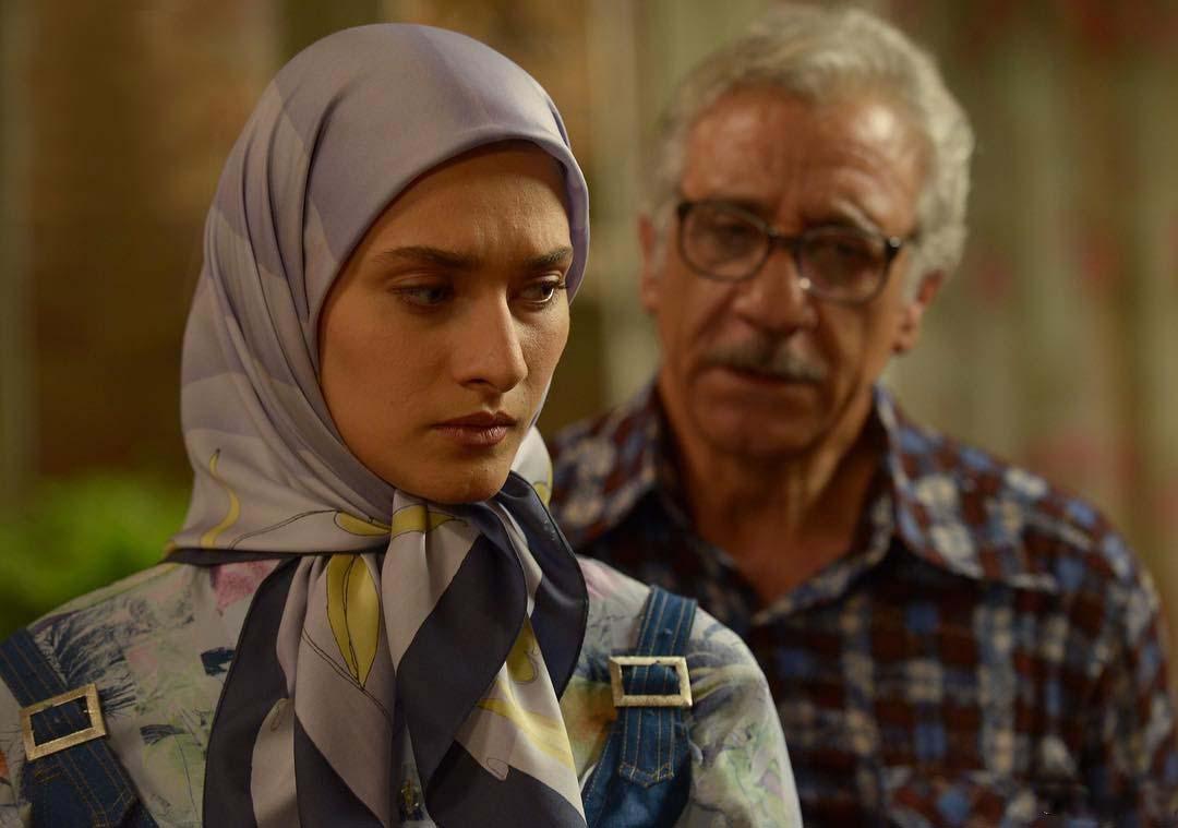 ساناز سعیدی و مسعود رایگان در سریال تلوزیونی نفس