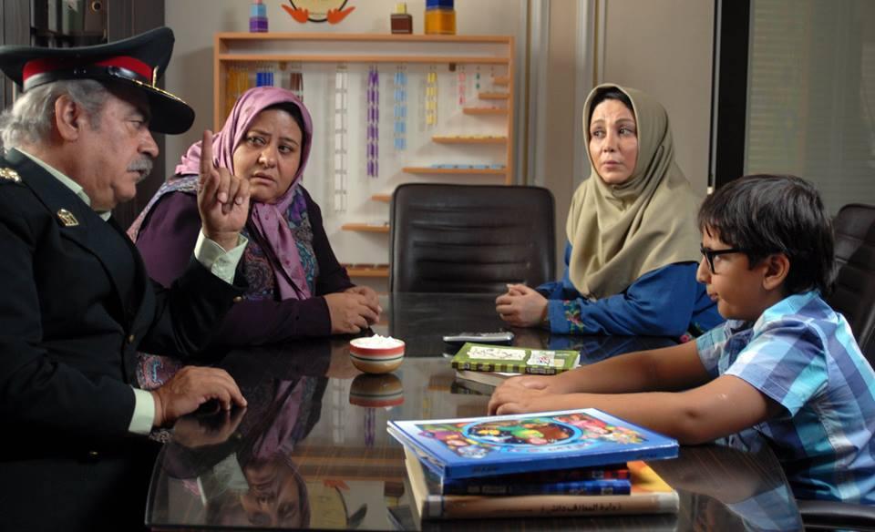 رابعه اسکویی در صحنه فیلم سینمایی دزد و پری به همراه بهزاد فراهانی، بهنوش بختیاری و محمدرضا شیرخانلو