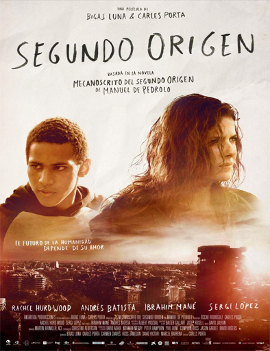 Andrés Batista در صحنه فیلم سینمایی Second Origin به همراه Rachel Hurd-Wood