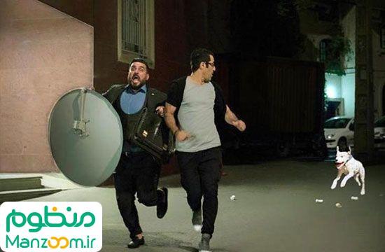 محسن کیایی و پژمان جمشیدی در فیلم لونه زنبور