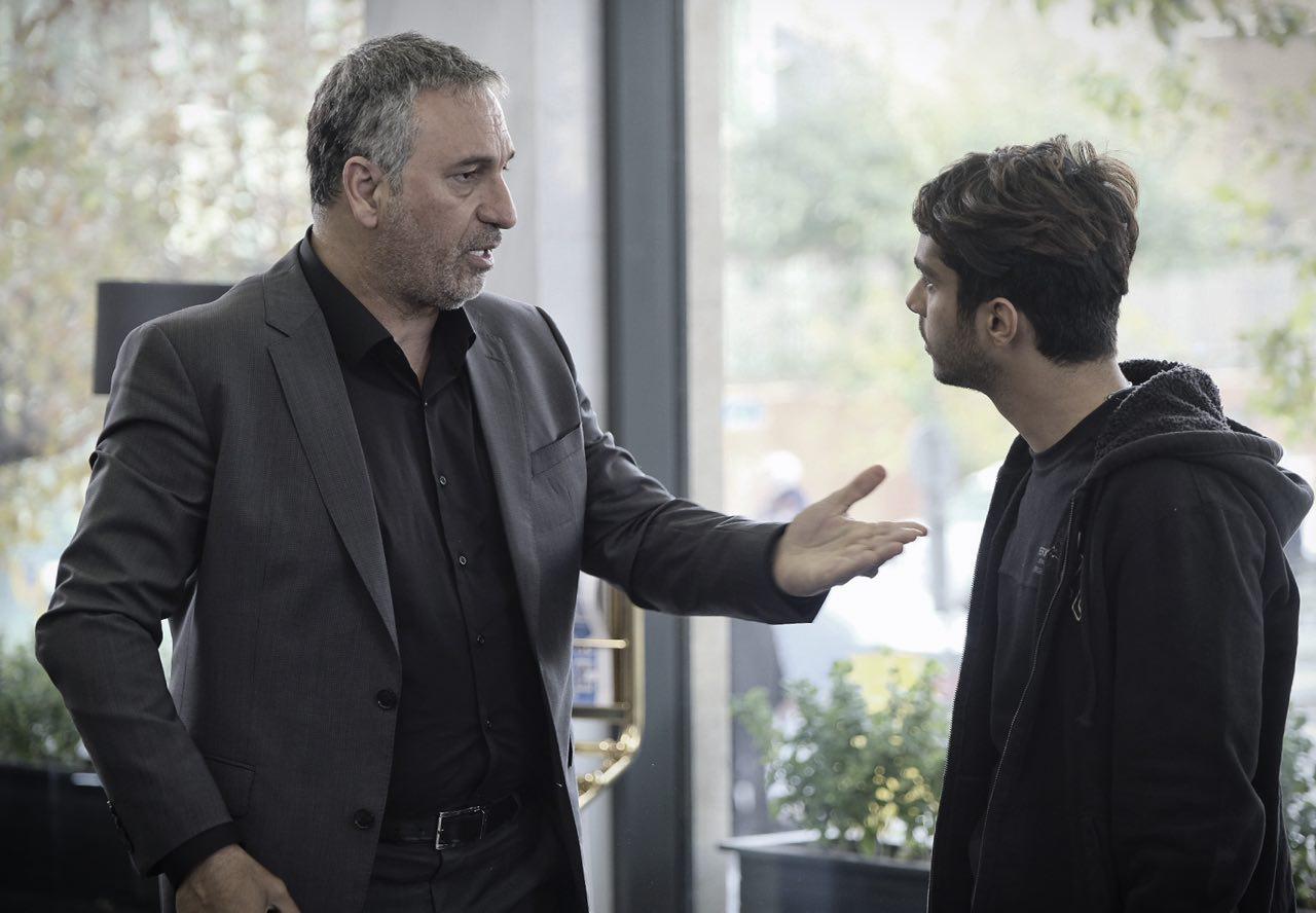 ساعد سهیلی و حمید فرخ نژاد در فیلم سینمایی لاتاری
