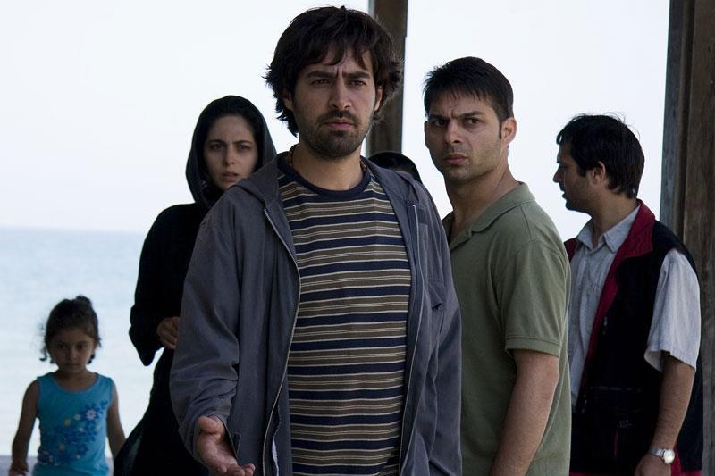 شهاب حسینی و پیمان معادی در فیلم درباره الی