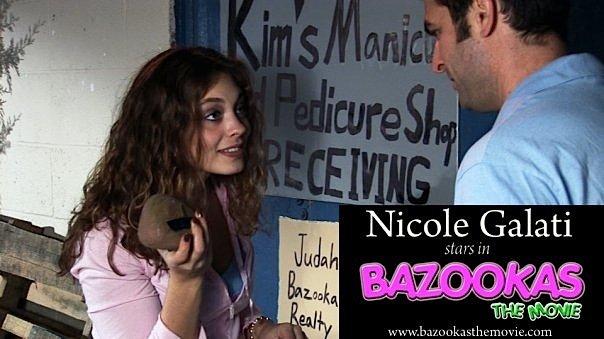 Nicole Galati در صحنه فیلم سینمایی Bazookas: The Movie
