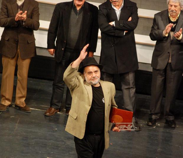 اکبر عبدی، بازیگر و مجری سینما و تلویزیون - عکس جشنواره