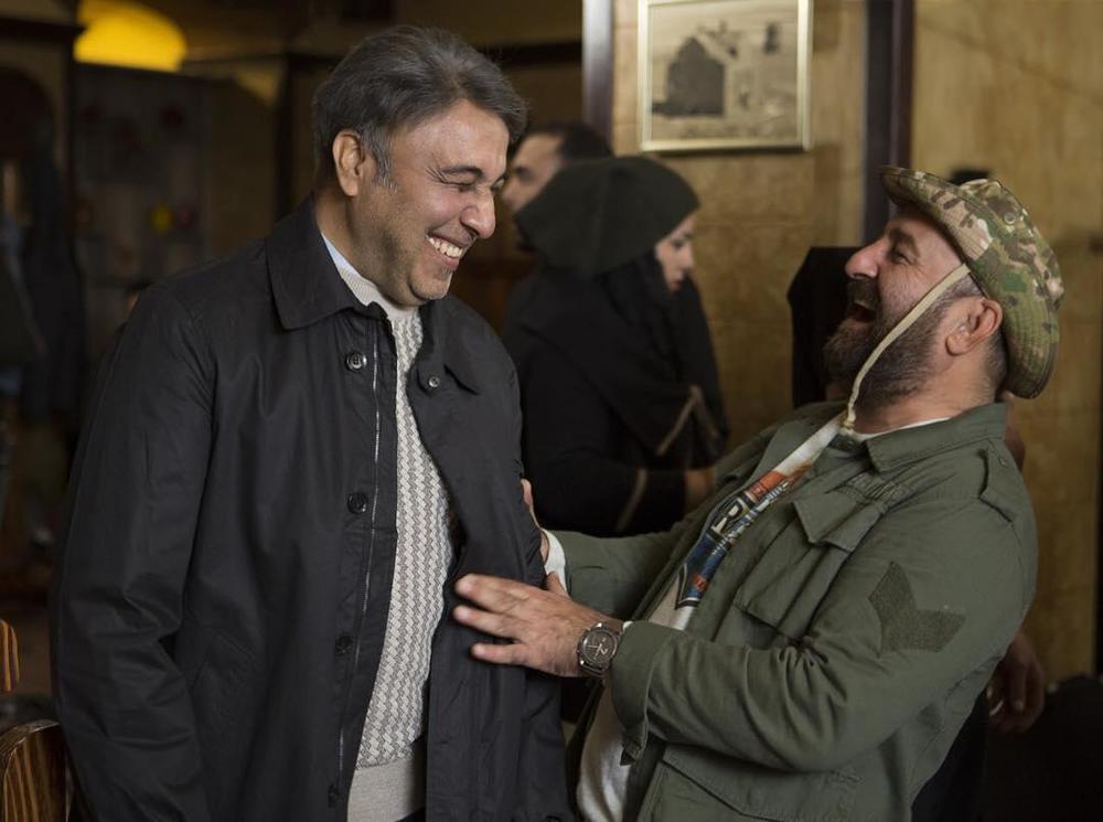 مهران احمدی و رضا عطاران در فیلم سینمایی مصادره