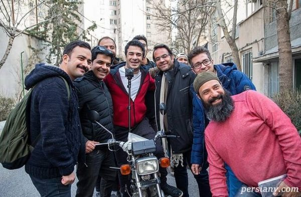 یوسف تیموری در پشت صحنه سریال تلویزیونی «زوج یا فرد»