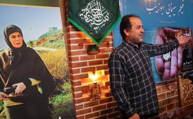 علی غفاری در صحنه فیلم سینمایی ابوزینب