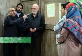 پرویز پورحسینی در صحنه سریال تلویزیونی بچه مهندس 2 به همراه سیاوش چراغیپور