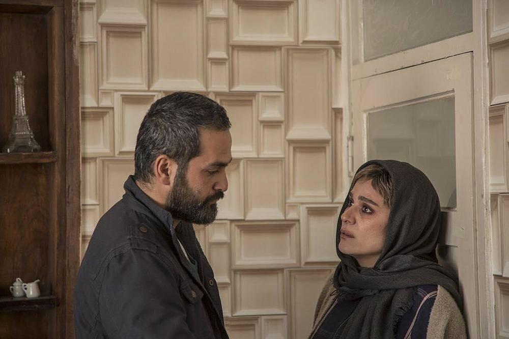 سحر دولتشاهی و میلاد کیمرام در فیلم سینمایی امیر