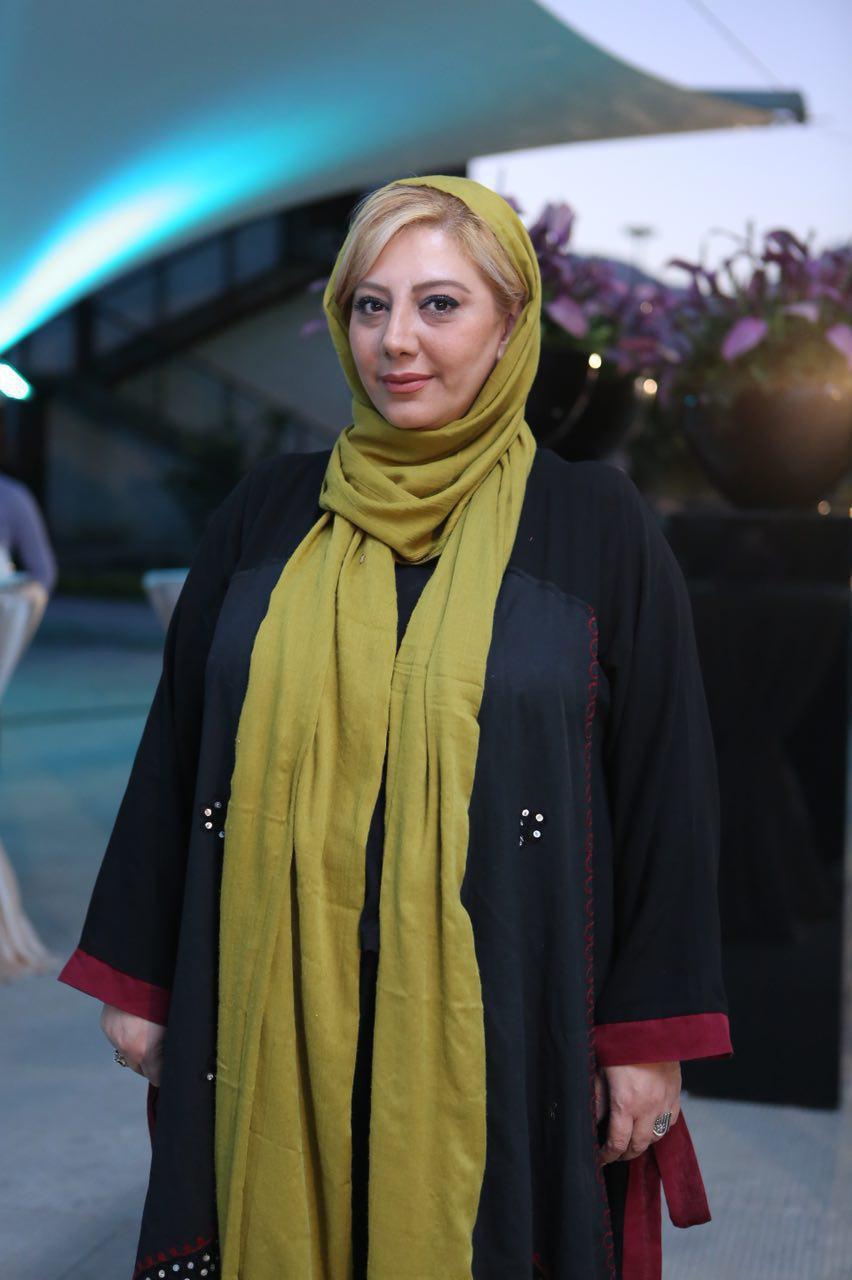 زهرا داوودنژاد در افتتاحیه  فیلم شماره 17 سهیلا