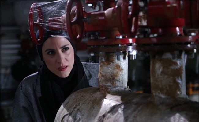 ویشکا آسایش در فیلم خوب بد جلف