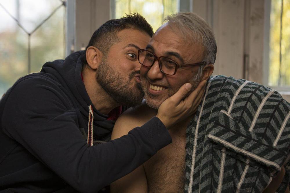 هومن سیدی و رضا عطاران در فیلم سینمایی مصادره
